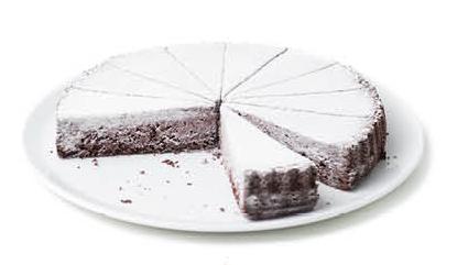 Caprese-Torte-Mandel-Kakao